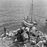 Maria Chroussaki: Aegina, 1950s