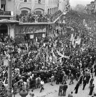 Maria Chroussaki: Liberation of Athens, October 1944