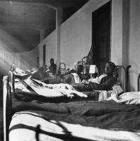 Maria Chroussaki: Hospital ward, 1941