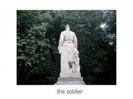 John Stathatos: A Visual Primer of the World: the soldier