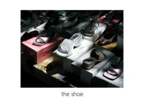 John Stathatos: A Visual Primer of the World: the shoe