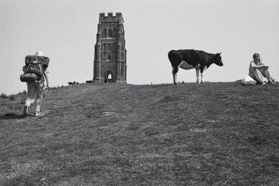 Martin Parr, Glastonbury Tor, from 'Beauty Spots', 1975
