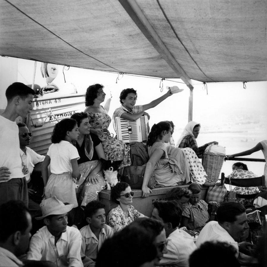 Robert McCabe, The Aegean, 1955 / Robert McCabe: Αιγαίο, 1955