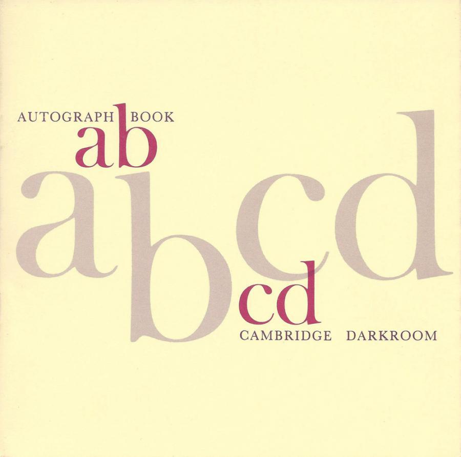 Autographs: catalogue cover, 1984